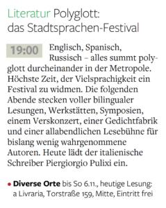 Berliner Morgenpost 1.11.2016